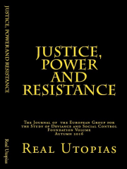 Cover of Foundation Volume of Justice Power and Resistance